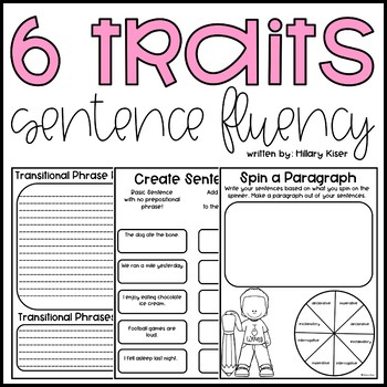 Six Traits of Writing Resource Series: Sentence Fluency (Grades 3-5)