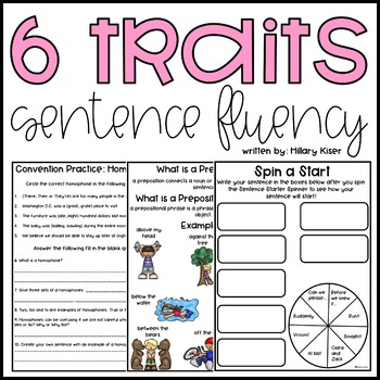 Six Traits of Writing: Sentence Fluency