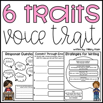 Six Traits of Writing Resource Series: Voice (Grades 3-5)