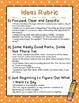 Six Traits of Writing -- Rubrics