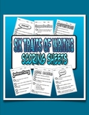 Six Traits of Writing Scoring Sheets