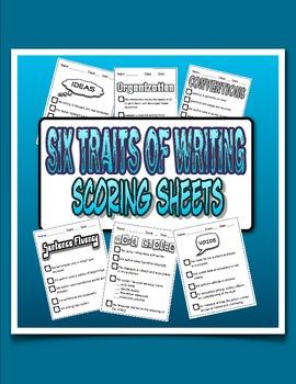 Six Traits of Writing Scoring Sheets