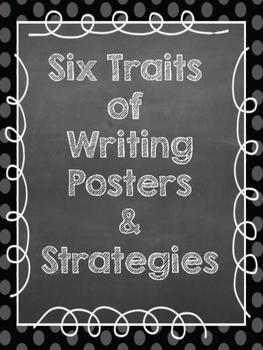 Six Traits of Writing Strategy Wall