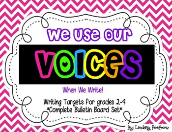 Six Traits of Writing VOICES Bulletin Board