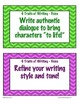 Six Traits of Writing Word Wall Cards