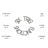 Six Trig Functions Foldable