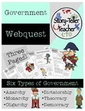 Six Types of Government Webquest (Monarchy, Democracy, Dic