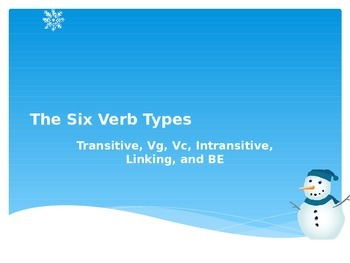 Six Verb Types