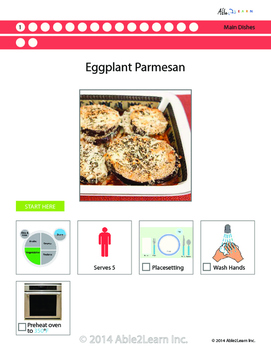 Six Visual Recipes for Youths with Autism/Special Ed Classroom - Mega Pack #12