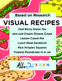 Six Visual Recipes for Youths with Autism/Special Ed Classroom - Mega Pack #14