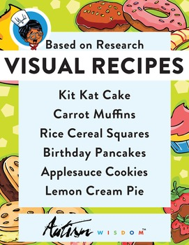 Six Visual Recipes for Youths with Autism/Special Ed Classroom - Mega Pack #5