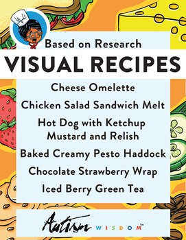 Six Visual Recipes for Youths with Autism/Special Ed Classroom - Mega Pack #6