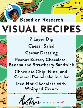 Six Visual Recipes for Youths with Autism/Special Ed Classroom - Mega Pack #7