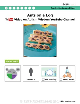 Six Visual Recipes for Youths with Autism/Special Ed Classroom - Mega Pack #3