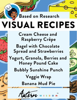 Six Visual Recipes for Youths with Autism/Special Ed Classroom - Mega Pack #4