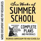 Six-Week Summer School Curriculum & Materials for English