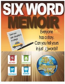 Six Word Memoir: A Writing Activity