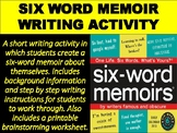 Six-Word Memoir Writing Activity