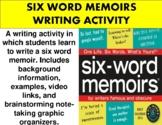 Six Word Memoir Writing Assignment