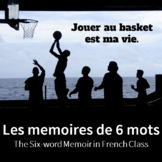 6-Word Memoir for French Class