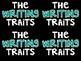 Six Writing Traits