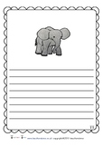 Six Zoo Animal Fact Sheets