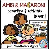 """""""Six amis sur le tapis"""" (Comptine, mots fréquents, ateliers, le son """"i"""")"""