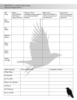 Six of Crows Character Matrix