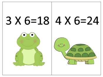 Sixes Made Easy--Multiplication Printables Galore