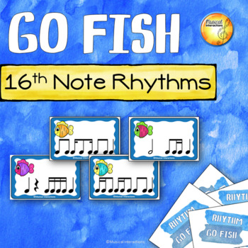 Sixteenth Note Rhythm Go Fish!