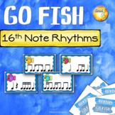 Sixteenth Note Rhythm Go Fish!