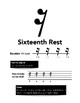 Sixteenth Note/Sixteenth Rest