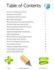 Sixth Grade (6th Grade) CCSS Math Checklist and Report Document