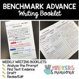 Sixth Grade (6th Grade) Writing Booklets (CA Benchmark Advance)