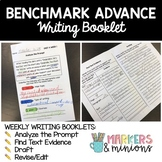 Sixth Grade (6th Grade) Writing Booklets (Benchmark Advance)
