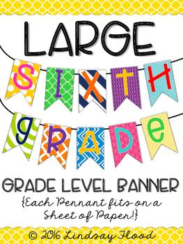 Sixth Grade Banner