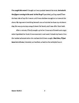 Sixth Grade CCSS Writing Bundle (NO PREP)