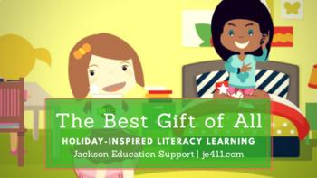Sixth Grade Christmas Comprehension Lesson (Passage & Answ
