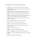 Sixth Grade Common Core ELA Vocabulary List/Definitions