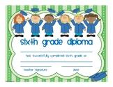 Sixth Grade Diploma