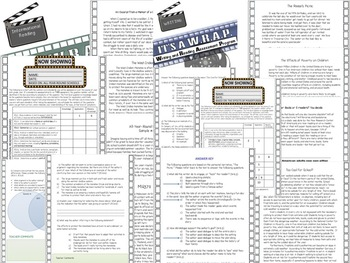 Sixth Grade ELA Common Core Assessments MEGA BUNDLE!