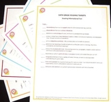 Sixth Grade ELA Common Core Posters-Set of Six - With Free Checklists