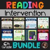 Sixth Grade Fluency & Comprehension Set Bundle {25 Passages & Activities}