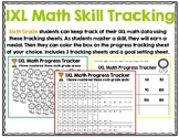 Sixth Grade IXL Math Tracking