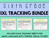 Sixth Grade IXL Tracking Bundle