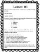 Sixth Grade Math 1 Day Emergency Sub Plan