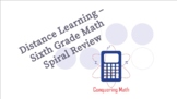 Sixth Grade Math Review - Complete Set!