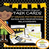 Math Task Cards  - Sixth Grade Ratios and Proportional Relationships