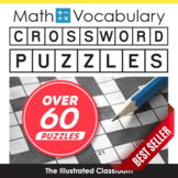 Middle School Math Vocabulary Crossword Puzzles