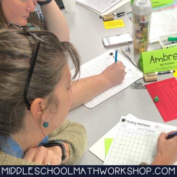 Sixth Grade Math Workshop Concept Based Activity Bundle | TEKS, CCSS, OAS